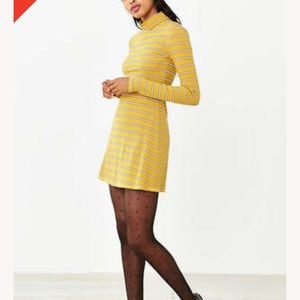 Urban Outfitters Dresses - BDG kaylyn 60s turtleneck mini dress